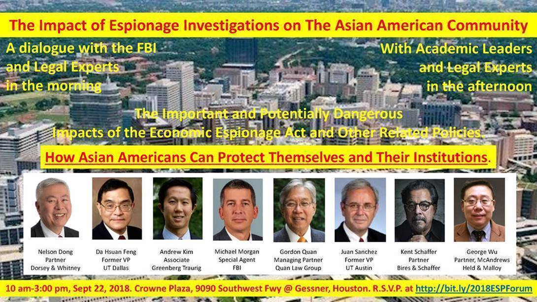 MEDIA RELEASE: The Impact of Espionage Investigations on The Asian American Community