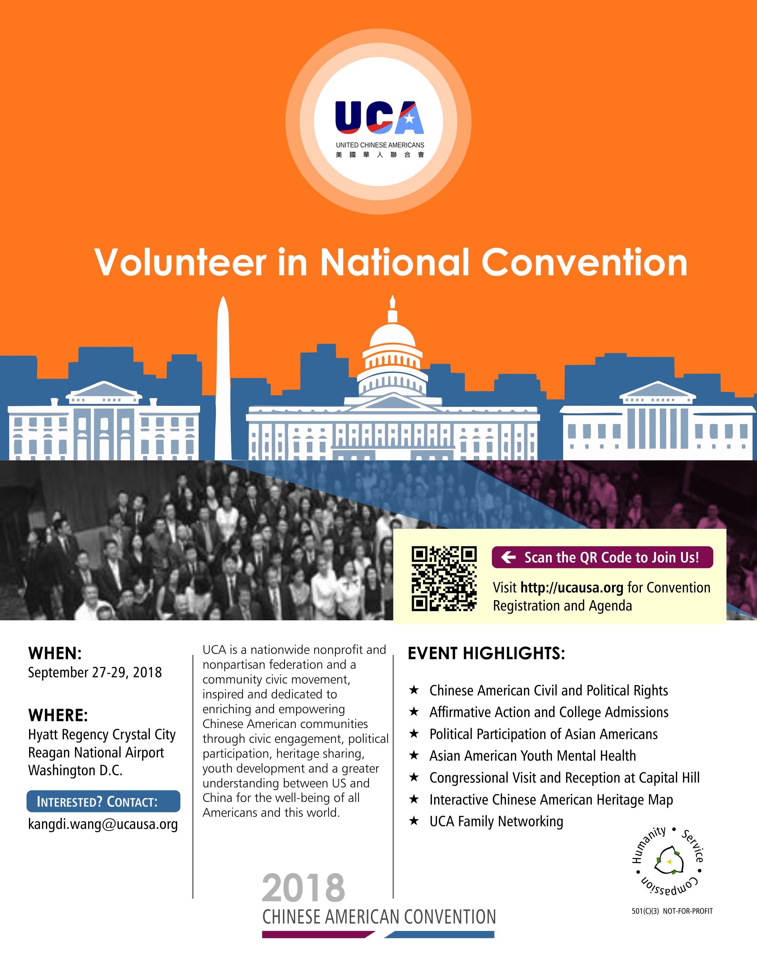 Volunteer in National Convention