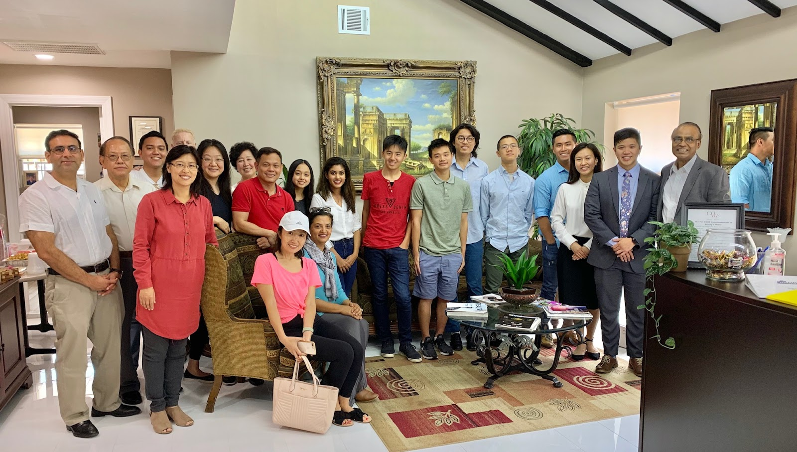 Houston Asian American Community Celebrating Completion of the 2019 Summer Student Internship in Civic Leadership