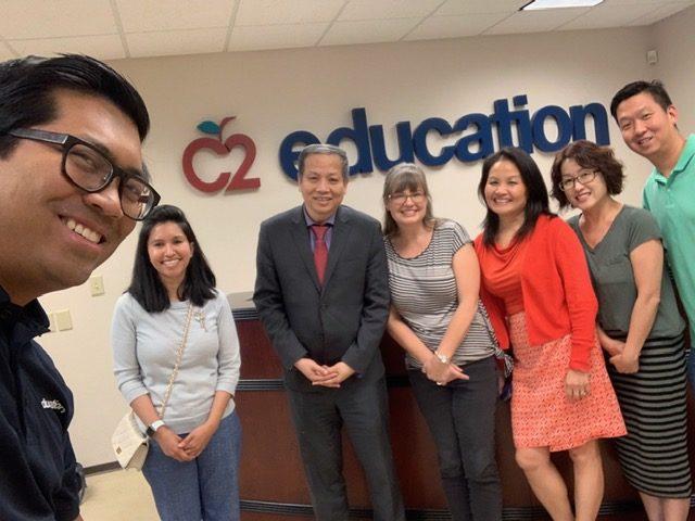 UCA President Leadership Visited C2 Education