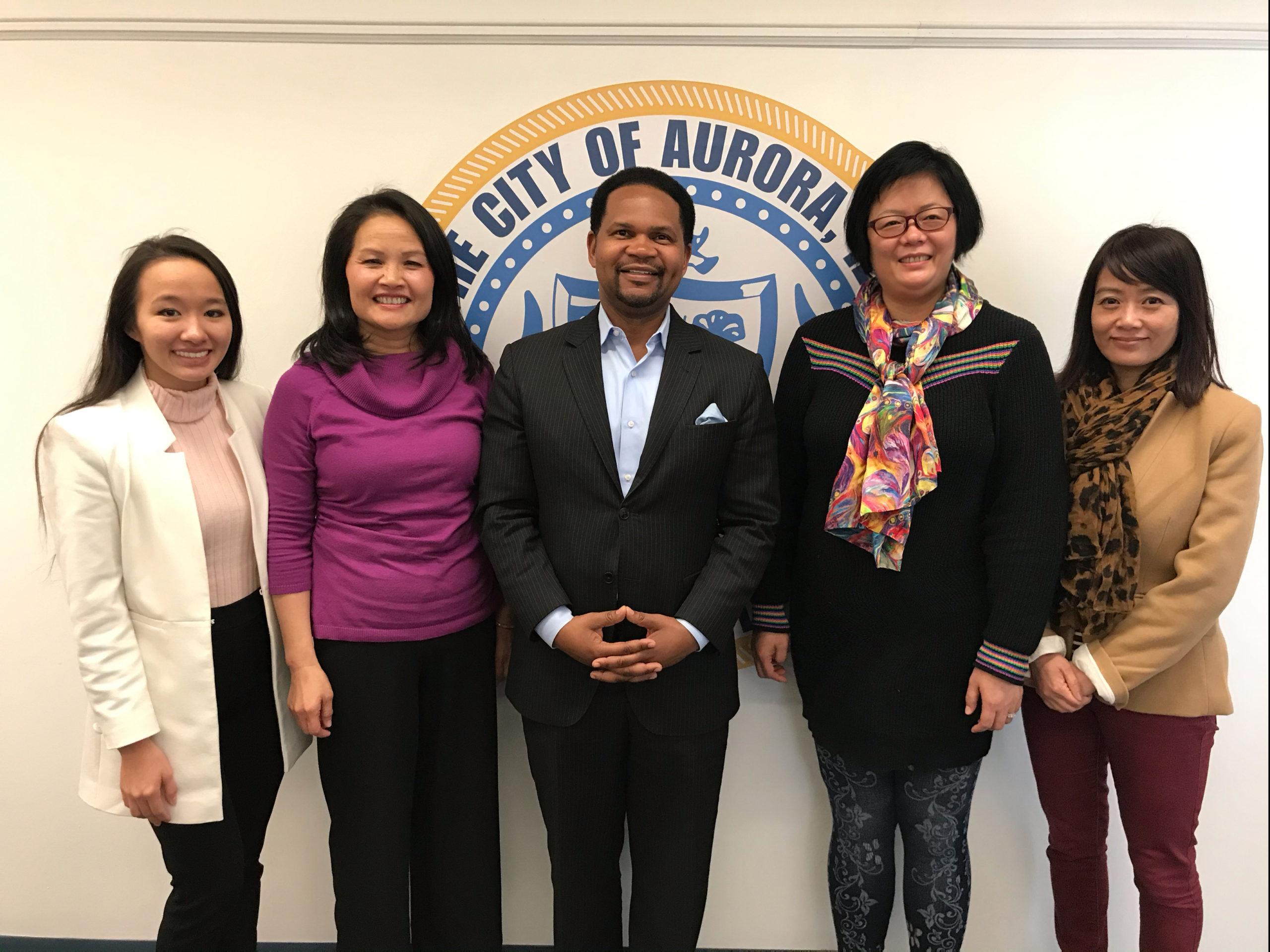 UCA-IL Meeting with City of Aurora Mayor