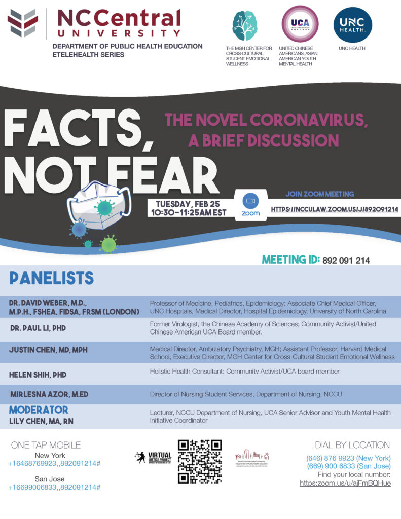Facts not Fear: COVID-19 Education Webinar