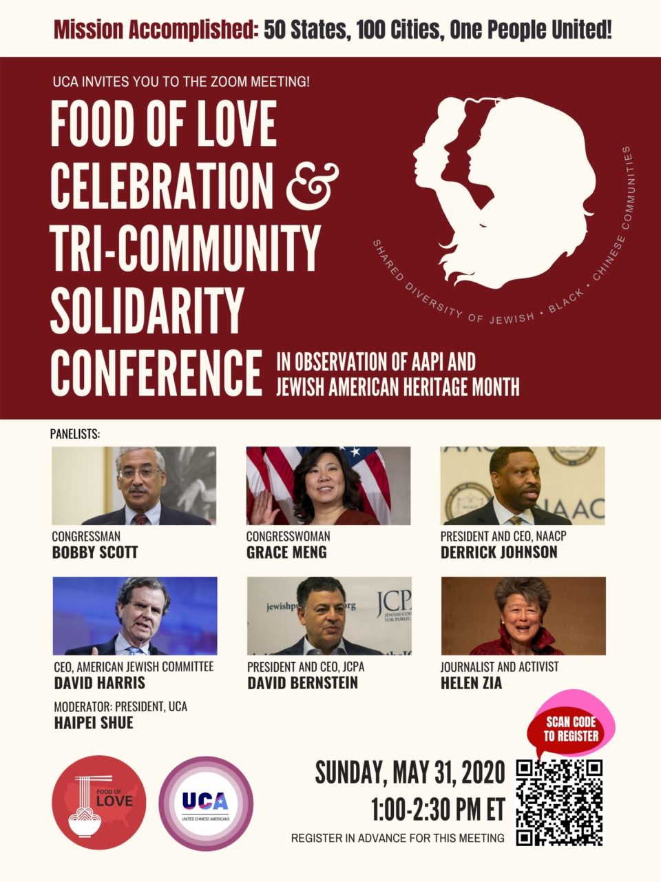 Food of Love Celebration And Tri-Community Solidarity Conference