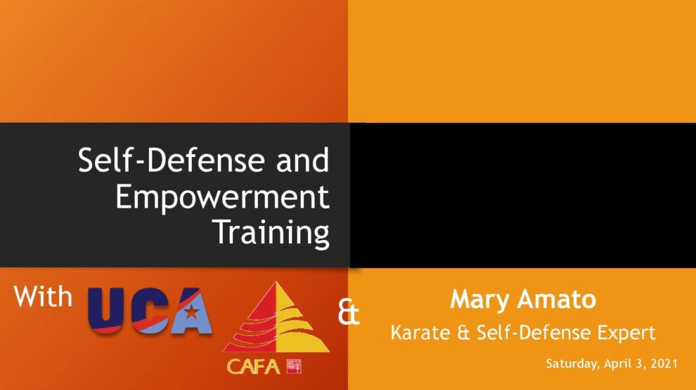 Self-Defense and Empowerment Training – Recording Now Online
