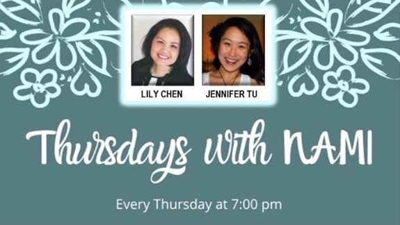 Event on 4/22, 7 p.m.– THURSDAYS with NAMI – Stop the hate: Violence against Asian Americans