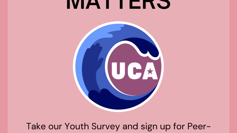 UCA WAVES Youth Peer-Support Sign-Up and Mental Health Survey – open now